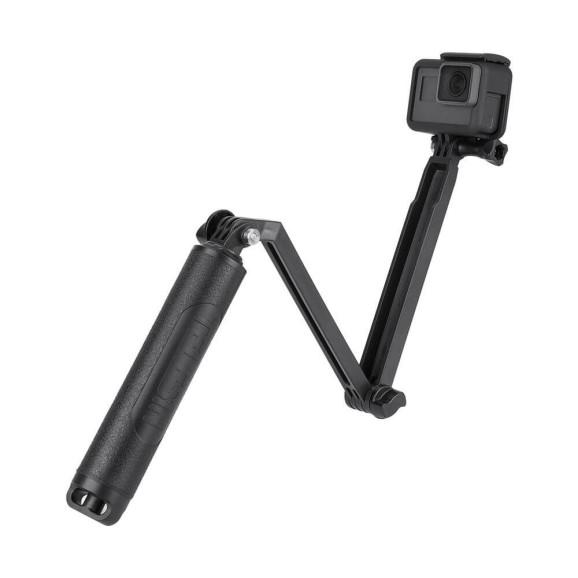 Bastão Flutuante 3 Way para GoPro e Câmeras Similares Telesin