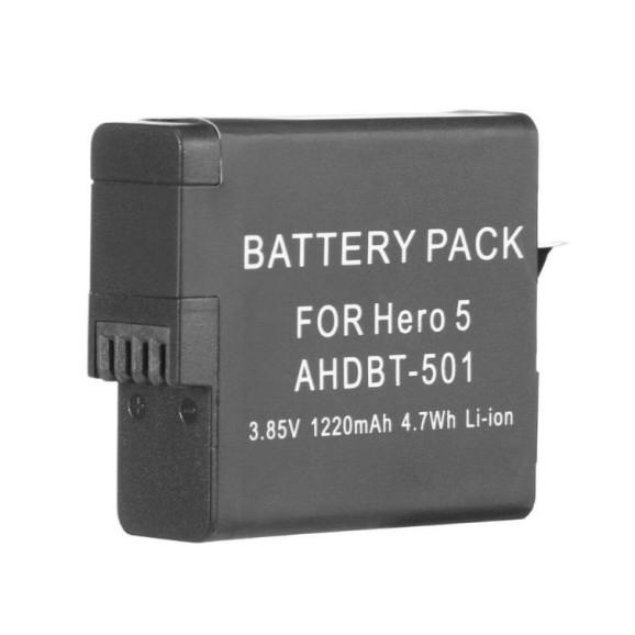 Bateria para GoPro Hero 5 6 7 8 Black e Hero 2018