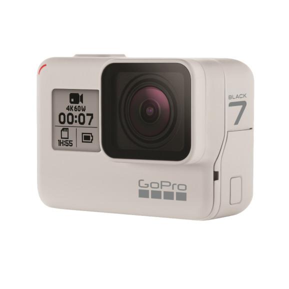 Câmera GoPro Hero 7 Black Branca Edição Limitada In Dusk White 12MP 4K Wifi