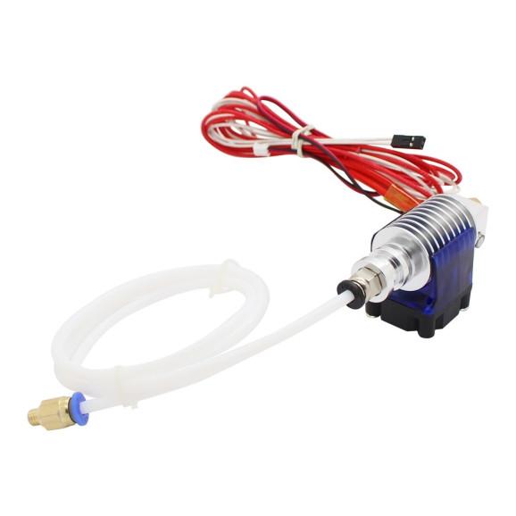 Cabeçote Extrusora Anycubic E3D V5 com Aquecedor Refrigeração Sensor 100k Para Impressora 3D