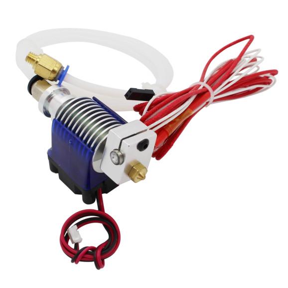 Cabeçote Extrusora Anycubic E3D V6 com Aquecedor Ventilador Sensor 100k Para Impressora 3D