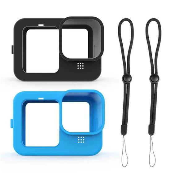 Capa de Silicone para GoPro Hero 9 Black + Cordão Ajustável
