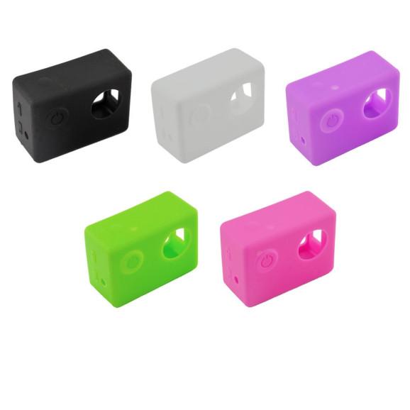 Capa Case Protetora Silicone Para Câmeras SJCam SJ4000