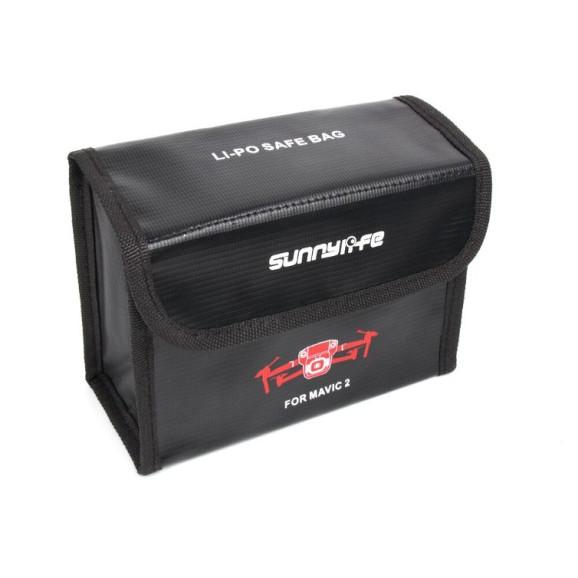 Case Antichamas para 3 Baterias do Drone DJI Mavic 2 Pro e Zoom - Sunnylife