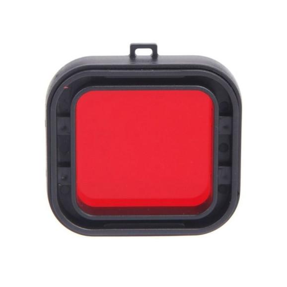 Filtro de Mergulho Vermelho Para GoPro Hero 4 e Hero 3+