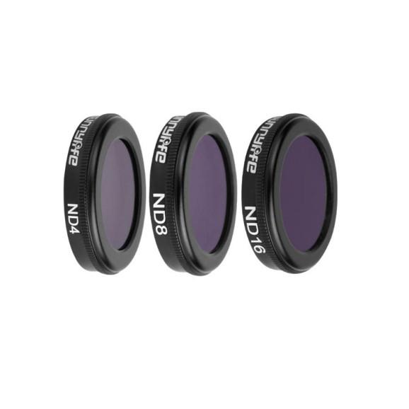 Filtro ND4 ND8 e ND16 para Drone DJI Mavic 2 Zoom - Sunnylife