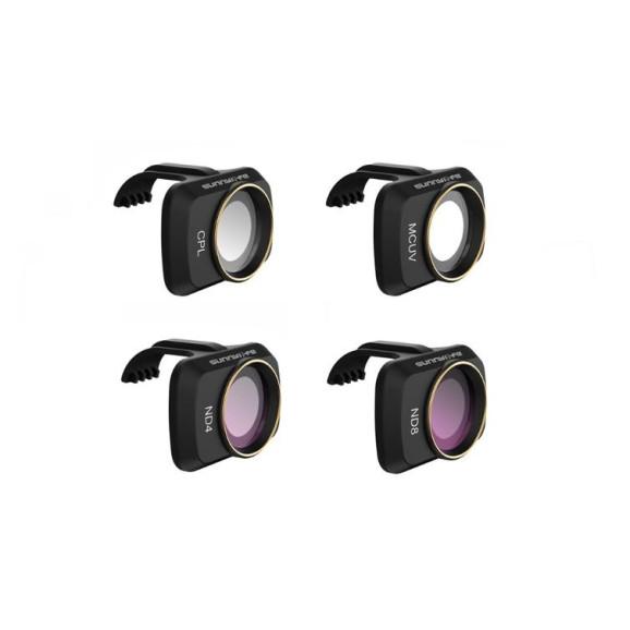 Filtro UV CPL ND4 e ND8 para Drone DJI Mavic Mini - Sunnylife
