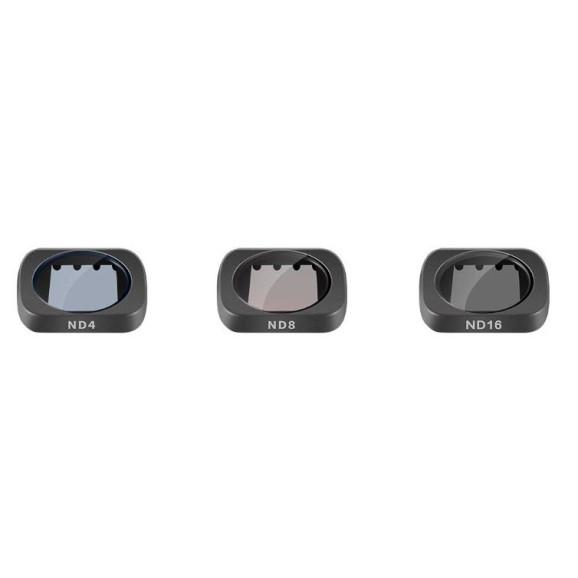 Kit de Filtros ND para DJI Osmo Pocket - Telesin (ND4 / ND8 / ND16)