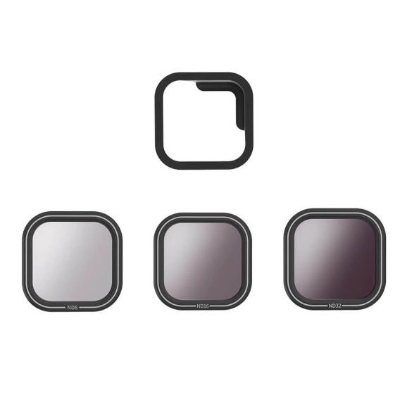 Kit de Filtros ND para GoPro Hero 8 Black - Telesin (ND8/ND16/ND32)
