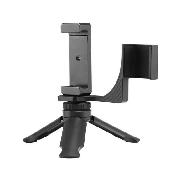 Kit Suporte para Osmo Pocket + Suporte de Celular + Mini Tripé - Telesin