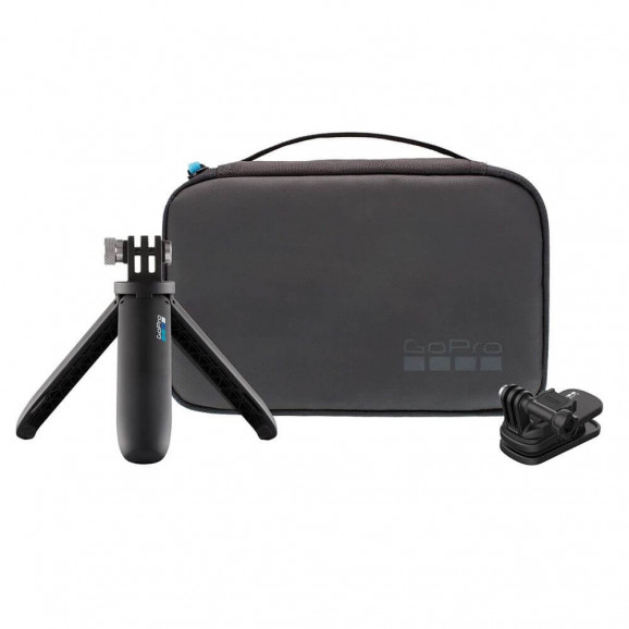Kit Viagem GoPro 2.0 - Bastão Shorty + Clip Magnético + Estojo - AKTTR-002