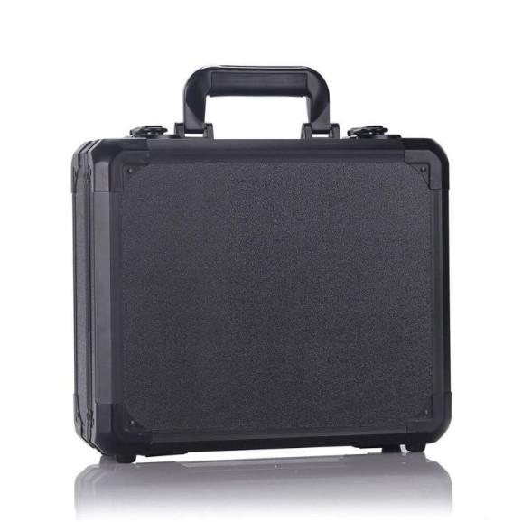 Case Maleta Rígida para Drone DJI Mavic Pro Com Cantos em Alumínio - Cor Preto