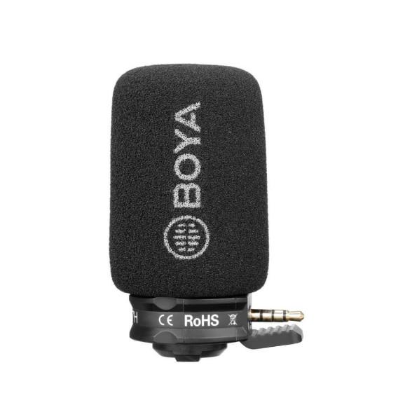 Microfone Direcional para Celulares e Tablets - BOYA BY-A7H