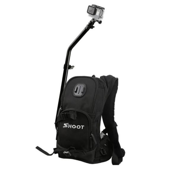 Mochila Selfie com Suporte Para GoPro ou Câmeras Similares - Shoot