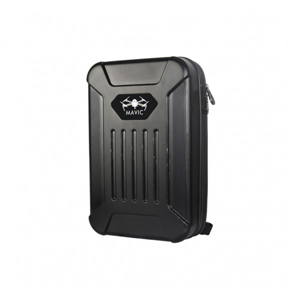 Mochila Estojo Rígido Impermeável Preta Case Backpack Para Drone DJI Mavic Pro YX-N1703B
