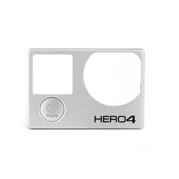 Moldura Frontal de Reposição Câmera GoPro Hero 4 Silver e Hero 4 Black