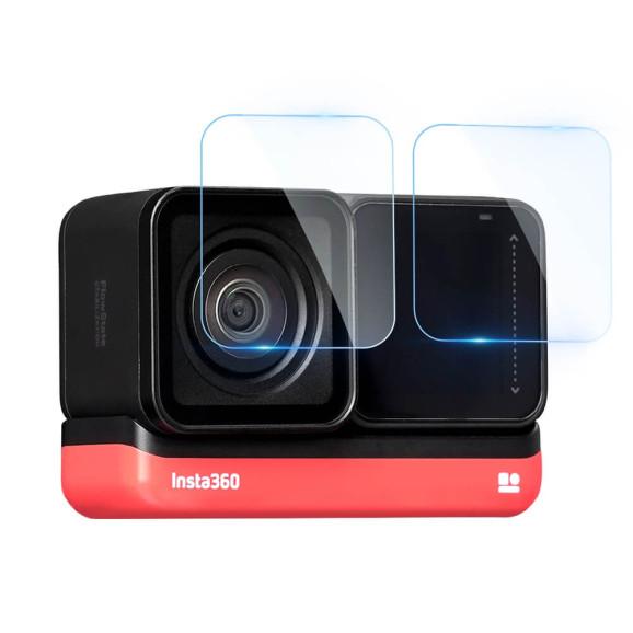 Película para Câmera Insta360 One R 4K Vidro Temperado - Telesin