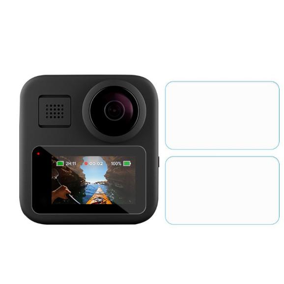 Kit de Películas para Tela LCD GoPro MAX 360 - Telesin Vidro Temperado