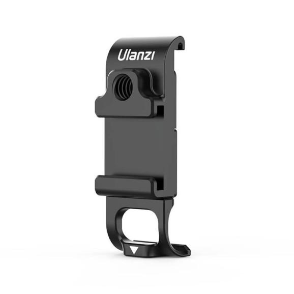 Porta Lateral para GoPro Hero 9 Black com Encaixe Microfone e Led - Ulanzi