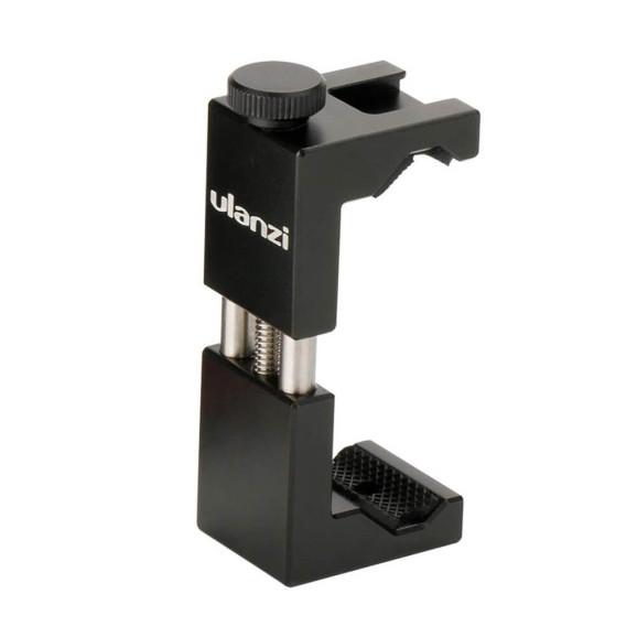 Suporte de Celular em Alumínio com Encaixe para Microfone/Led - Ulanzi