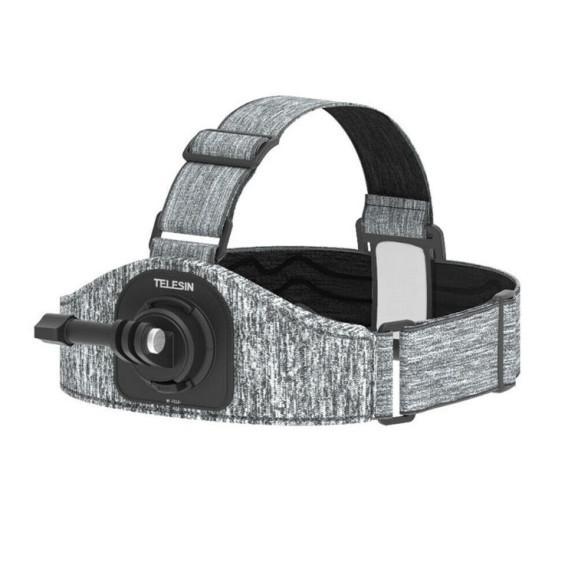 Suporte de Cabeça para GoPro e Câmeras Similares - Telesin