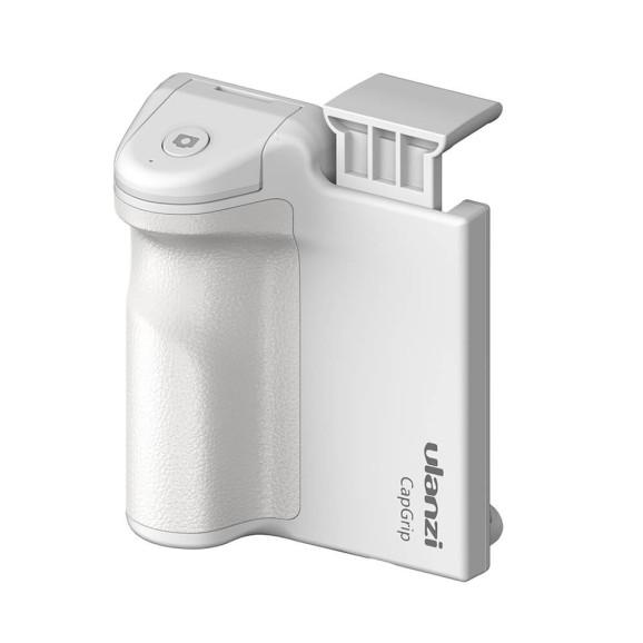 Suporte para Celular com Controle Disparador Bluetooth - Ulanzi Cor Branco