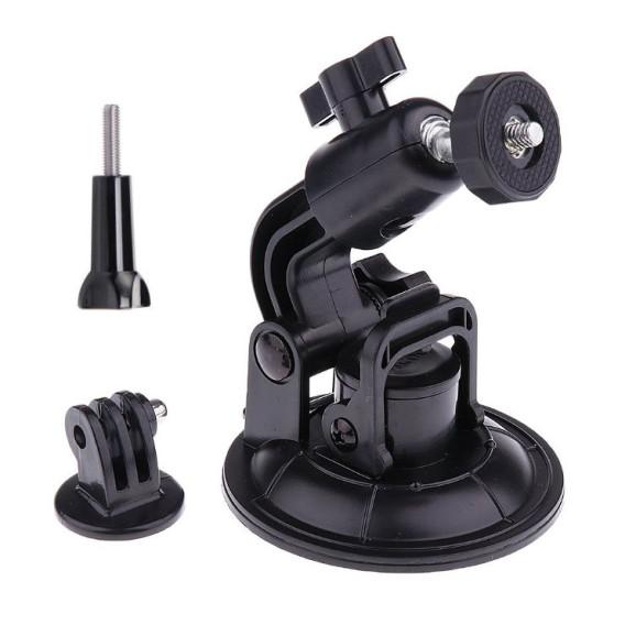 Suporte Ventosa Para GoPro e Câmeras Similares com Diâmetro de 9cm