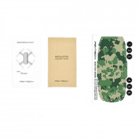 Adesivo Decorativo Pgytech Camuflado (CA4) para Drone DJI Spark