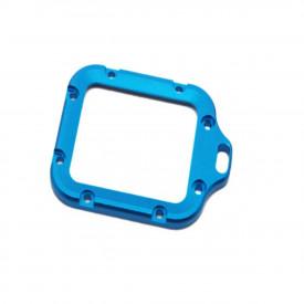 Armação de Alumínio Azul Para Caixa Estanque da Câmera GoPro Hero 3