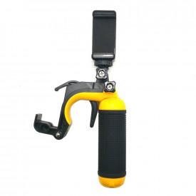 Bastão Flutuante para GoPro com Gatilho Disparador e Suporte de Celular