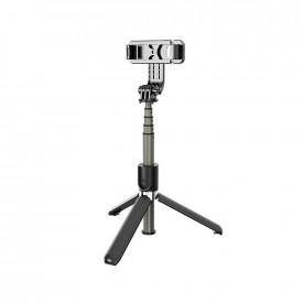 Bastão de Selfie com Tripé para Celular / GoPro com Controle Disparador