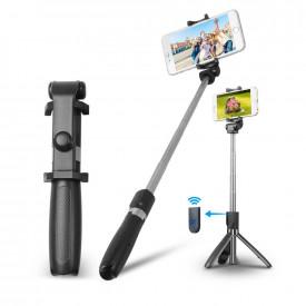 Bastão e Tripé para Celular com Controle Disparador de Fotos Apexel