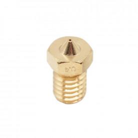 Bico Cabeça de Impressão 4mm Extrusor E3D Printer Nozzle Impressora 3D V6/V5 J-Head 1.75mm ABS PLA
