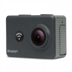 Camera Esportiva Shoot 4K Ultra HD T31 Action Camera 14MP Wifi Controle Remoto + Kit de Acessórios