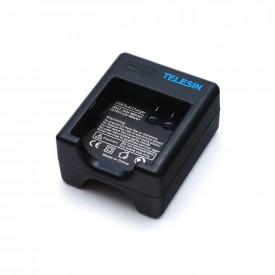 Carregador Duplo para Câmera XiaoMi Yi II 4K - Telesin