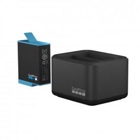 Carregador Duplo + Bateria GoPro Hero 9 Black - ADDBD-001