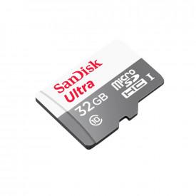 Cartão de Memória 32GB SanDisk Ultra MicroSDHC C10 UHS-I 100MB/s