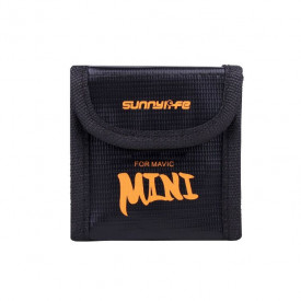 Case Antichamas para 2 Baterias do Drone DJI Mavic Mini - Sunnylife