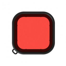 Filtro de Mergulho Vermelho para Caixa Estanque GoPro Hero 8 Black