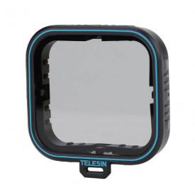 Filtro Polarizador GoPro Hero 5 6 7 Black e Hero 2018 Telesin