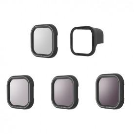 Filtros ND8 ND16 ND32 e CPL para GoPro Hero 8 Black - Telesin