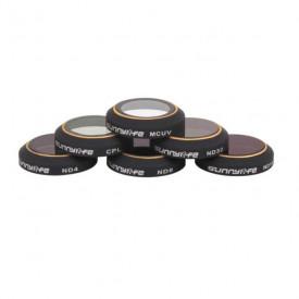 Filtros Para Drone DJI Mavic Pro MCUV CPL ND4 ND8 ND16 ND32 - Sunnylife