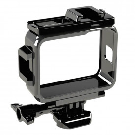 Suporte Frame para GoPro Hero 9 Black com Encaixe Microfone e Led