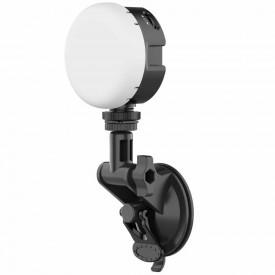 Iluminador de Led para Câmeras / Celulares com Suporte Ventosa - Vijim VL69