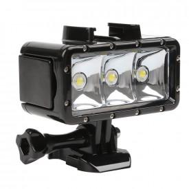 Iluminador Led para Mergulho 40m Shoot para Câmeras GoPro e Similares