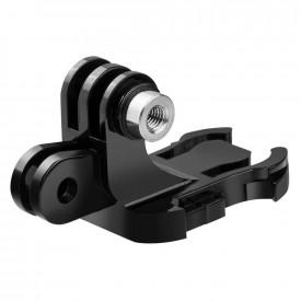 Suporte Adaptador J-Hook Duplo para GoPro e Câmeras Similares Telesin