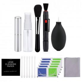 Kit Acessórios de Limpeza para Lentes / Câmeras / Celulares