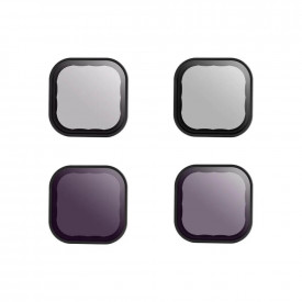 Kit de Filtros ND e CPL para GoPro Hero 9 Black - Telesin