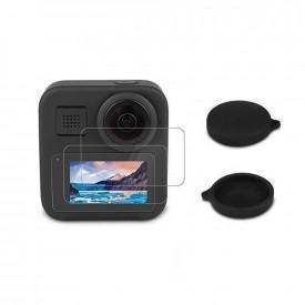 Kit Protetores de Lente + Películas para GoPro MAX 360