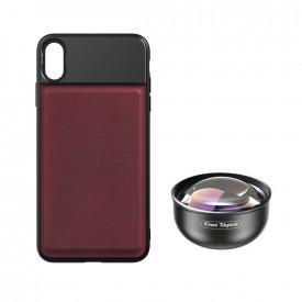Lente Telefoto 85mm + Case para iPhone XS Max Apexel
